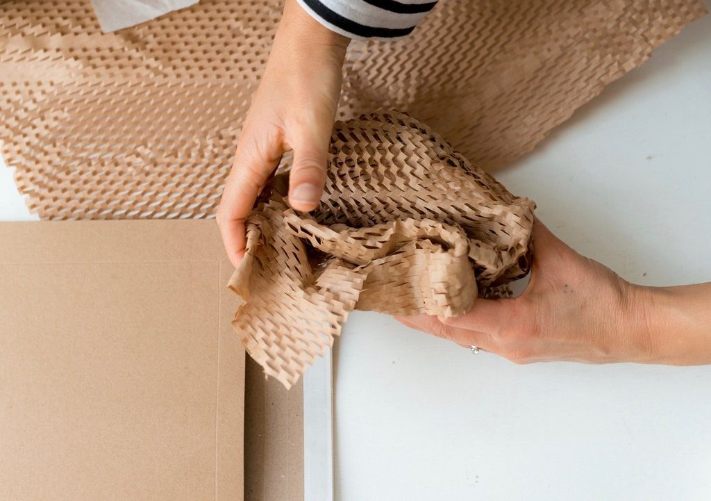 corrugated bubble wrap sustainable packaging material
